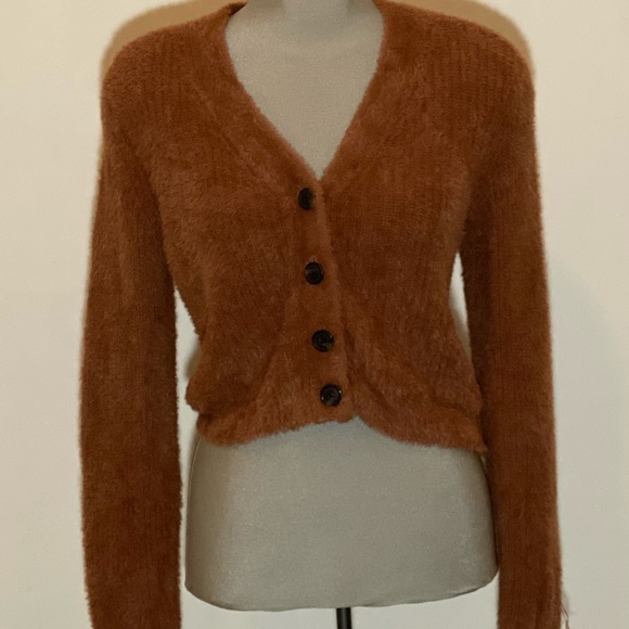 American Eagle Soft Fuzzy Sweater